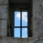 Window Of Old Cell Block